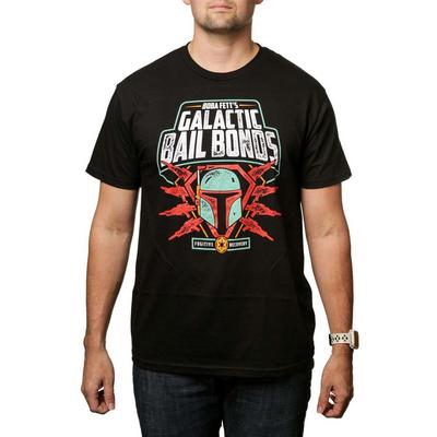 Star Wars Boba Fett's Galactic Bail Bonds T-Shirt