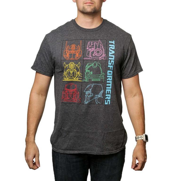 Transformers Colorblock T-Shirt