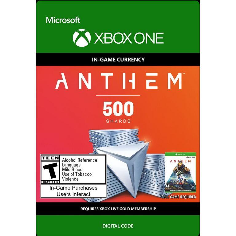 Anthem - 500 Shards Pack