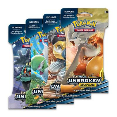 Pokemon Trading Card Game: Sun and Moon Unbroken Bonds Booster Pack (Assortment)