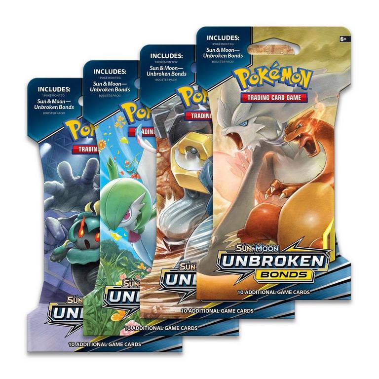 Pokemon Trading Card Game: Sun and Moon Unbroken Bonds Booster Pack (Assortment)