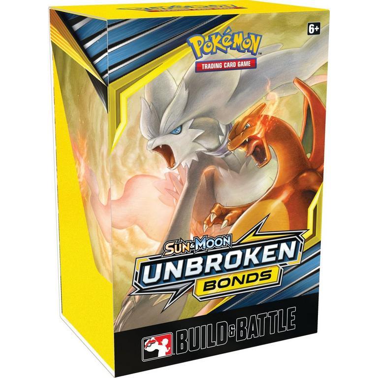 Pokemon Trading Card Game: Sun and Moon Unbroken Bonds Build & Battle Box