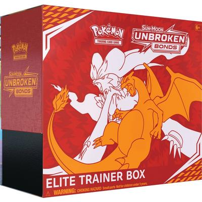 Pokemon: Trading Card Game Sun and Moon Unbroken Bonds Elite Trainer Box