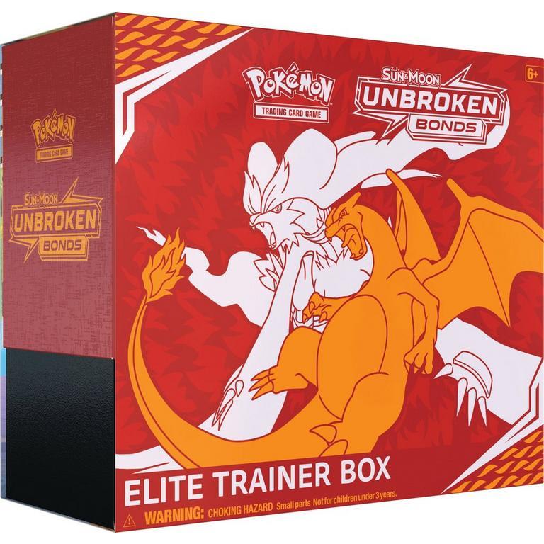 Pokemon: Trading Card Game Sun and Moon Unbroken Bonds Elite Trainer Box