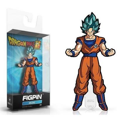 Dragon Ball Super Super Saiyan God Super Saiyan Goku FiGPiN Mini Only at GameStop