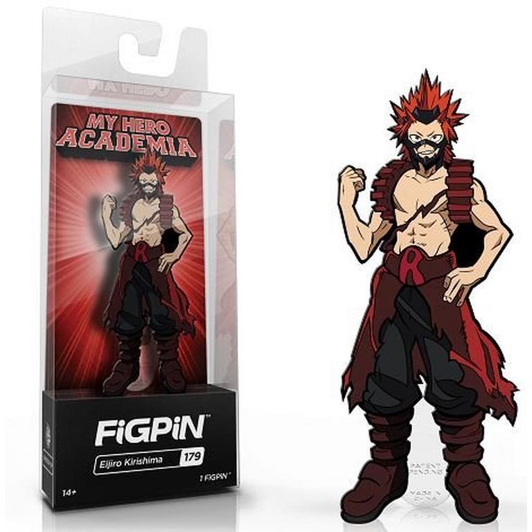 My Hero Academia Eijiro Kirishima Figpin Gamestop
