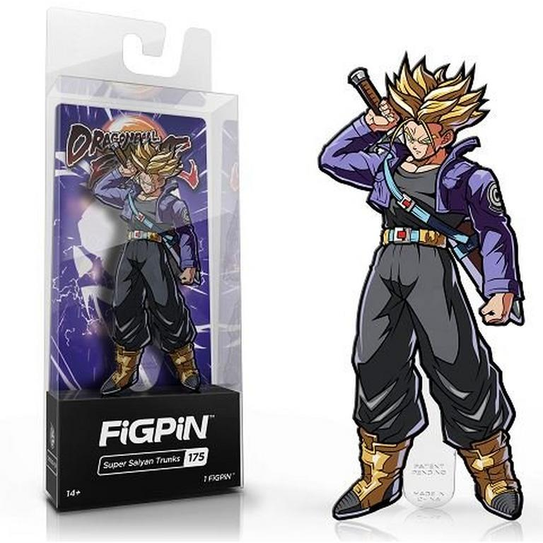 Dragon Ball Fighter Z Super Saiyan Trunks FiGPiN
