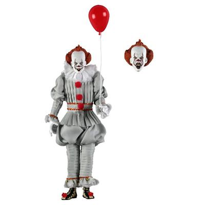 IT - 8 Inch Clothed Action Figure - Pennywise (2017)