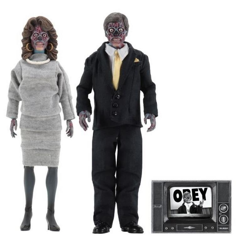 They Live Alien Action Figure 2 Pack