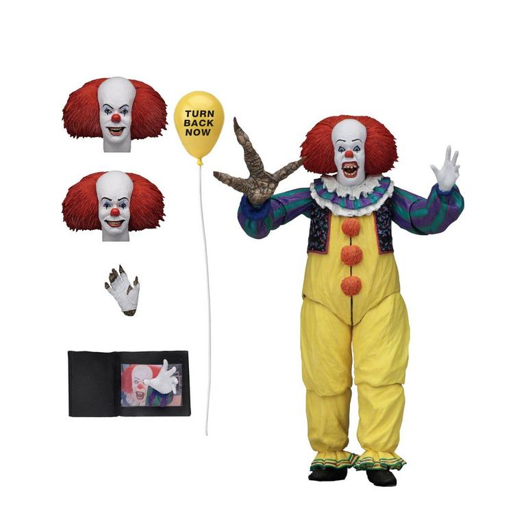 IT 1990 Pennywise Ultimate Version Action Figure