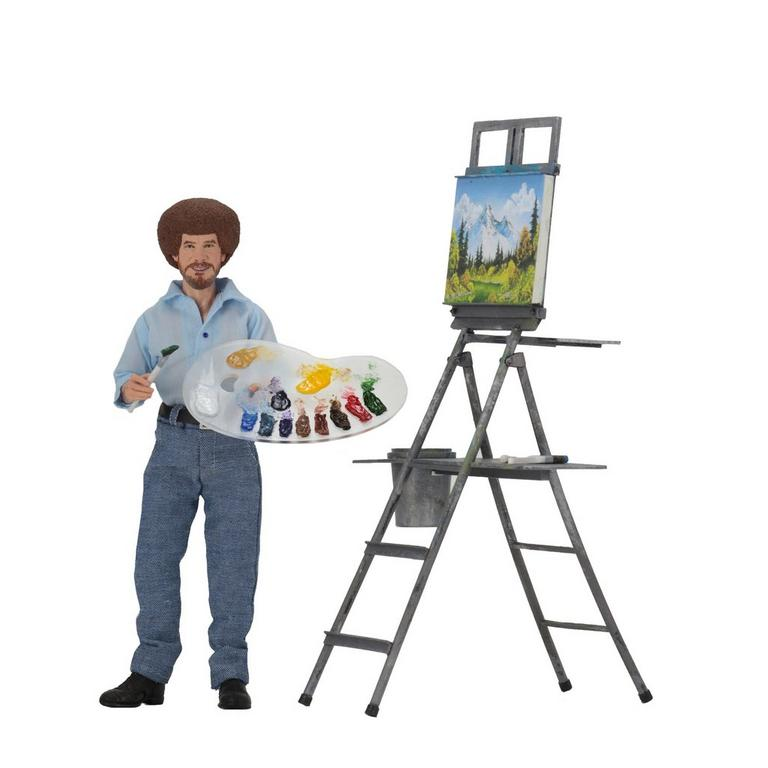 Bob Ross - 8 Inch Clothed Action Figure - Bob Ross