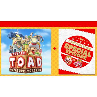 Captain Toad: Treasure Tracker and Special Episode Bundle