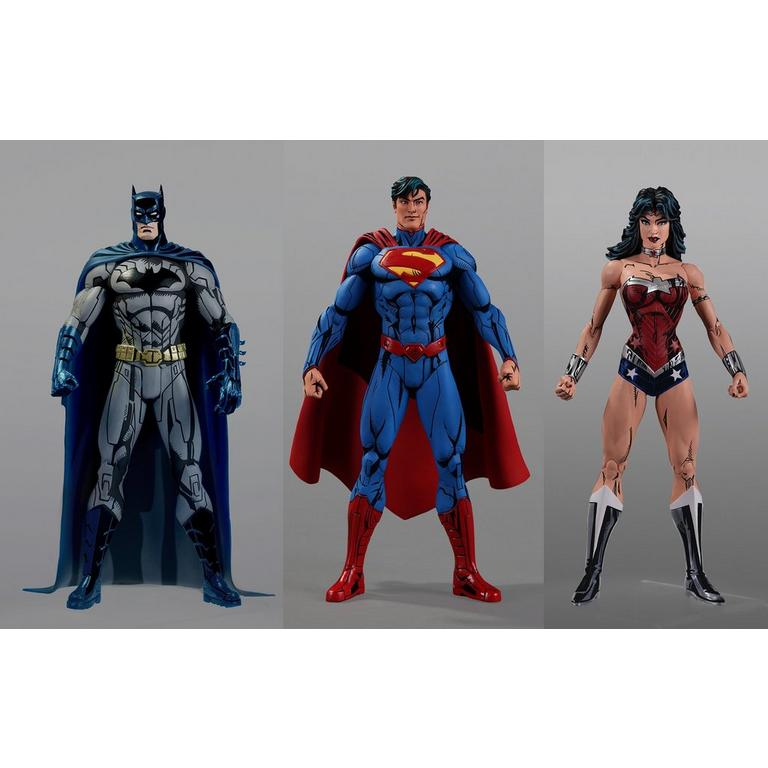 New 52 Cel Shaded Wonder Woman by Jim Lee DC Collection Action Figure
