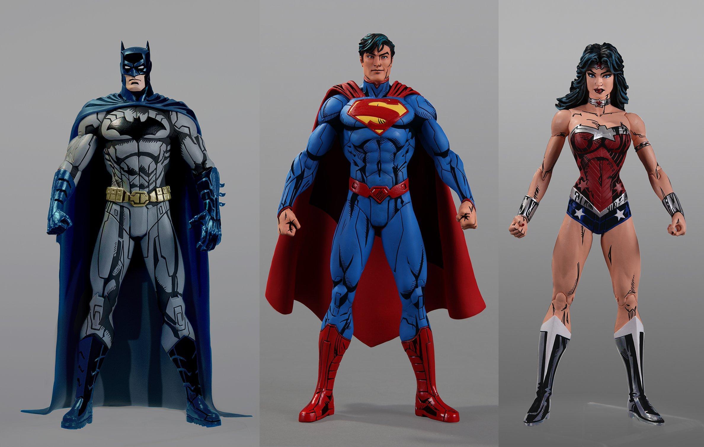 DC Comics Figura supermam Jim Lee