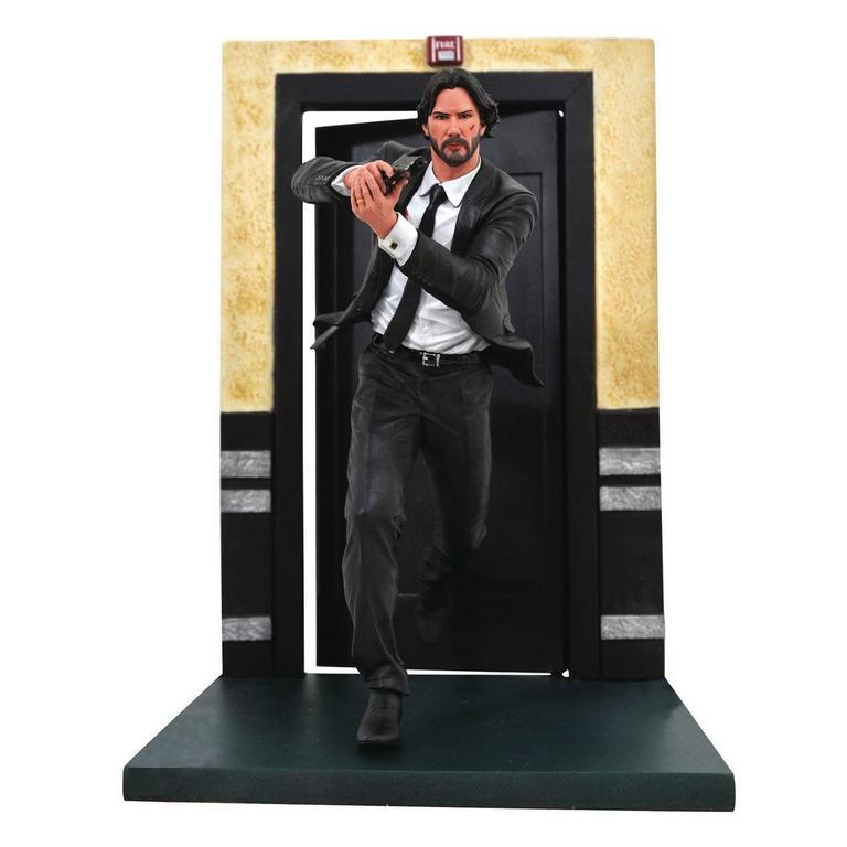John Wick Running Movie Gallery Statue