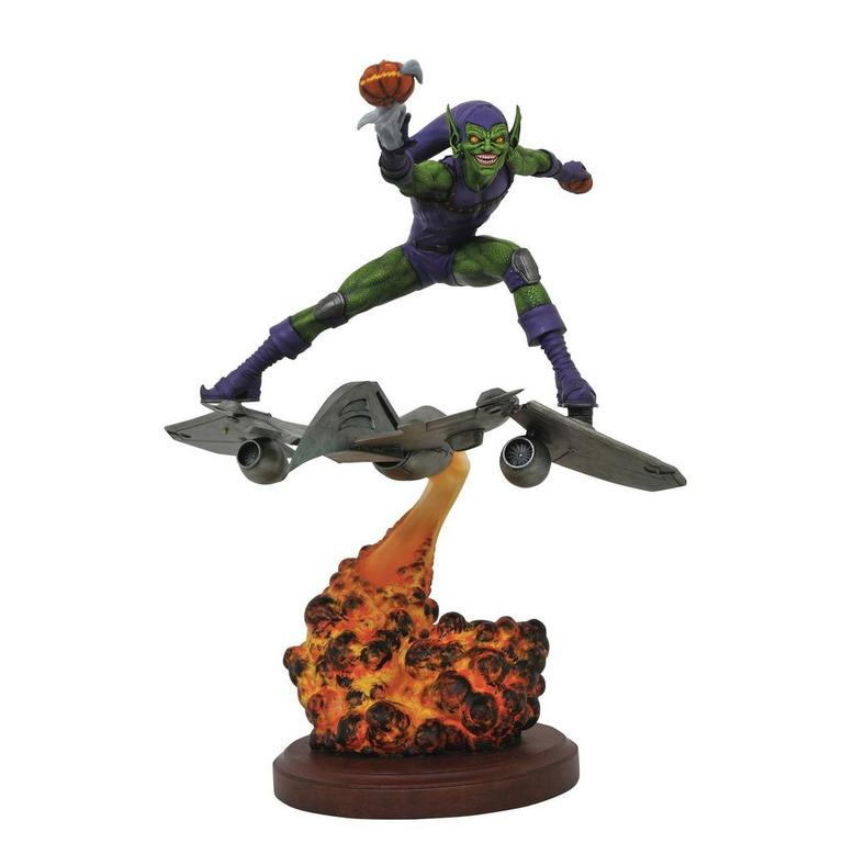 Spider Man Green Goblin Marvel Premier Statue Gamestop