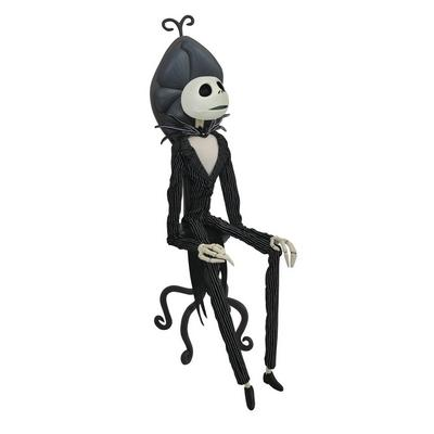 The Nightmare Before Christmas Jack Skellington with Chair Deluxe Coffin Doll