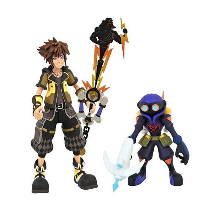 Kingdom Hearts 3 Select Series 2 Sora & Heartless Action Figure