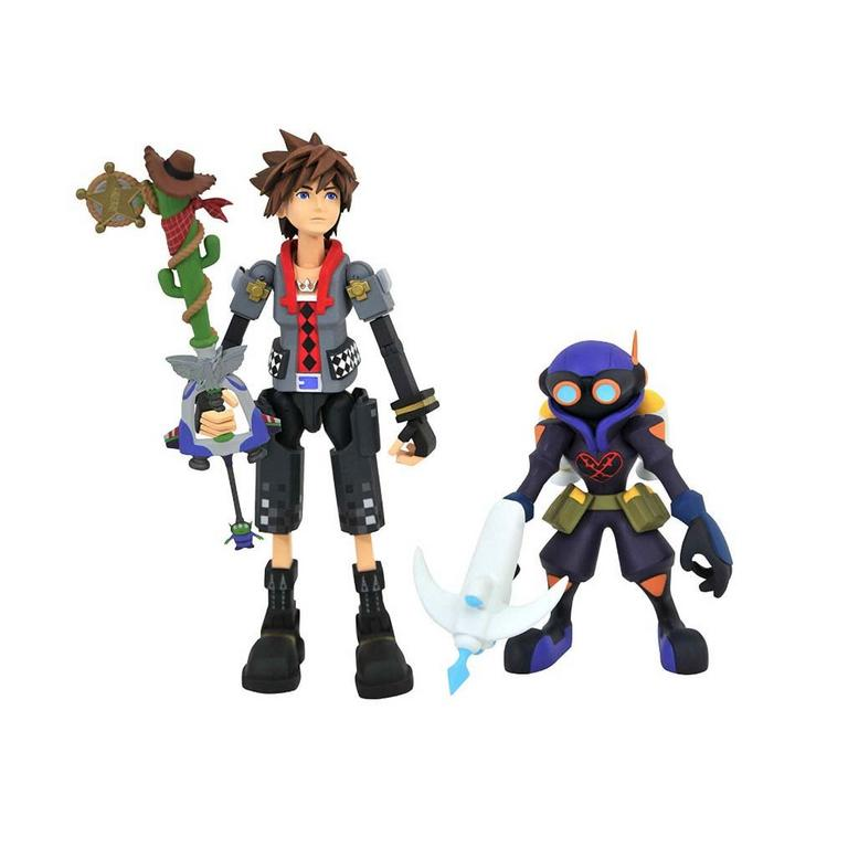 Kingdom Hearts 3 Select Series 2 TS Sora & G Heartless Action Figure