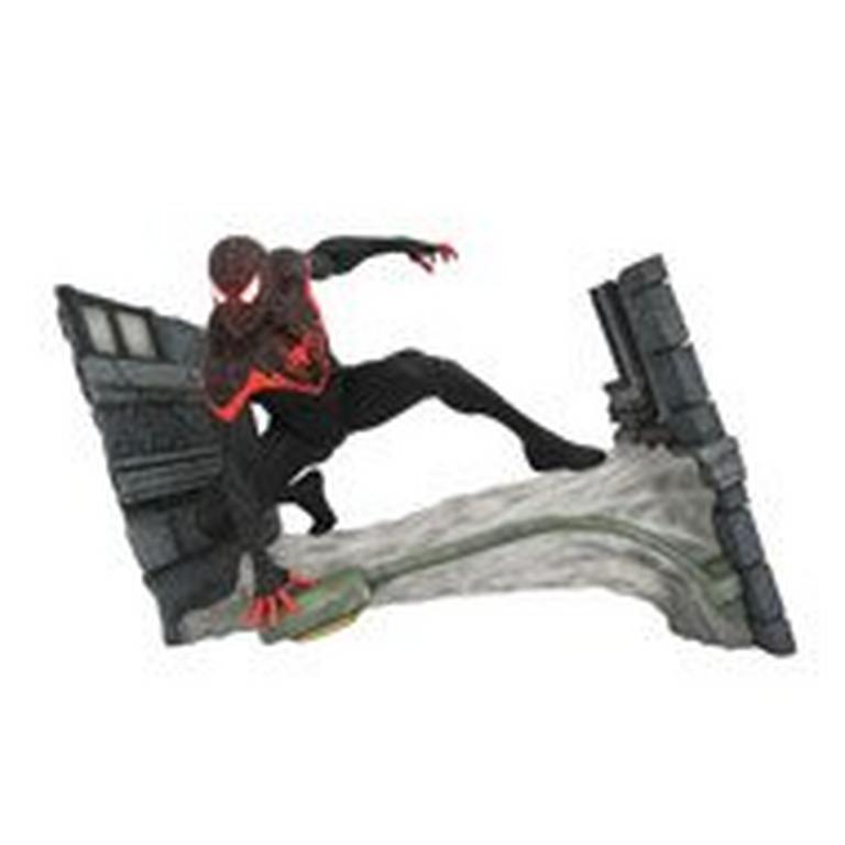 Spider-Man Miles Morales Marvel Gallery Statue