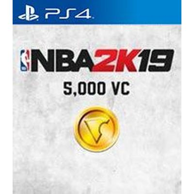 NBA 2K19 5,000 Virtual Currency
