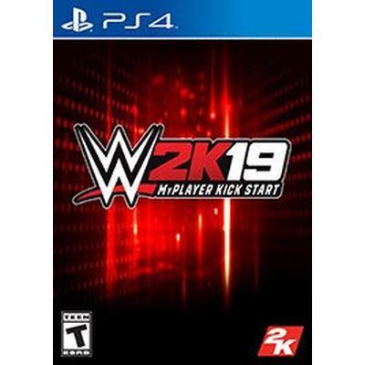 WWE 2K19 MyPlayer Kick Start