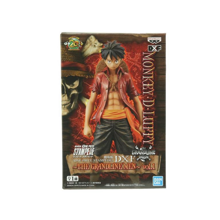 One Piece Stampede Movie - The Grandlinemen DXF Figure