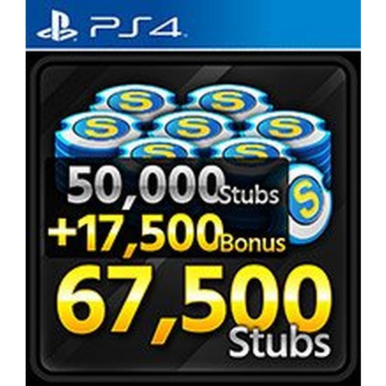 MLB The Show 19 67,500 Stubs