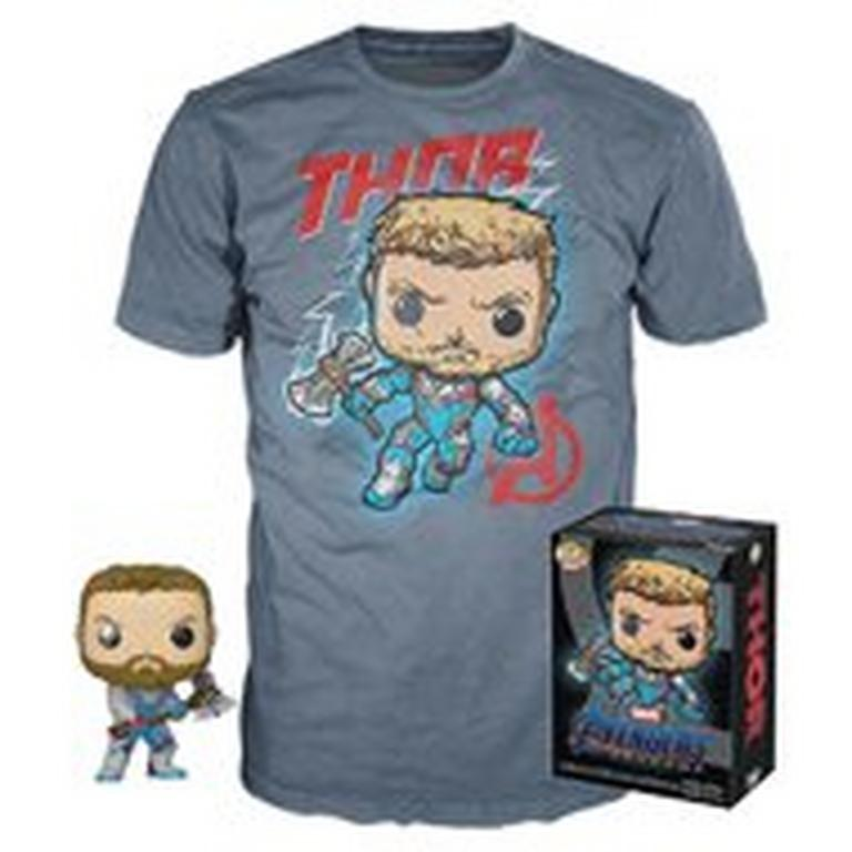 POP! and Tee: Avengers: Endgame Thor T-Shirt