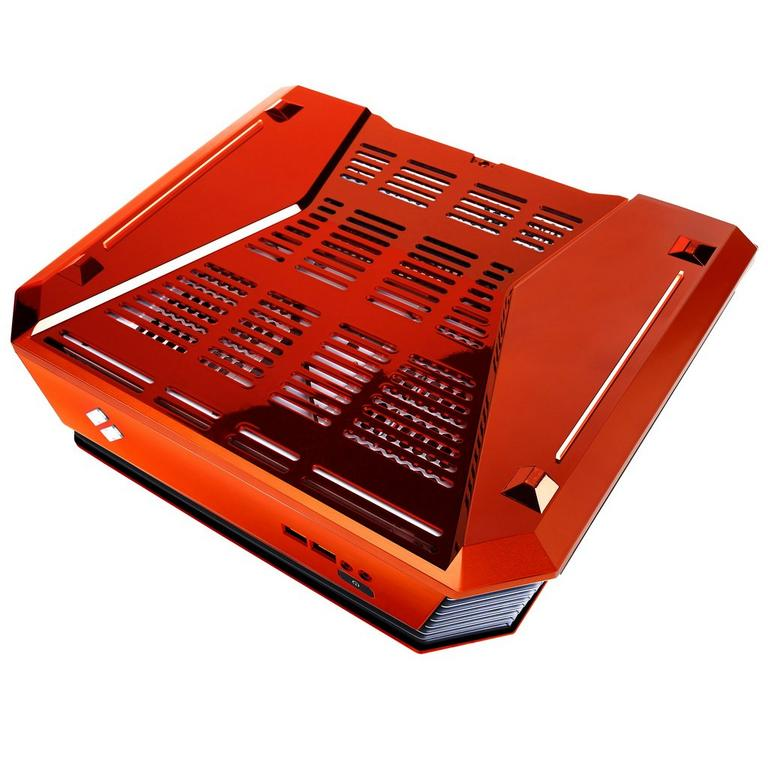 CyberPowerPC Syber C SCCO100 Orange Mini ITX Gaming Case
