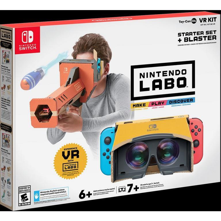 Nintendo Labo VR Kit Starter Set and Blaster