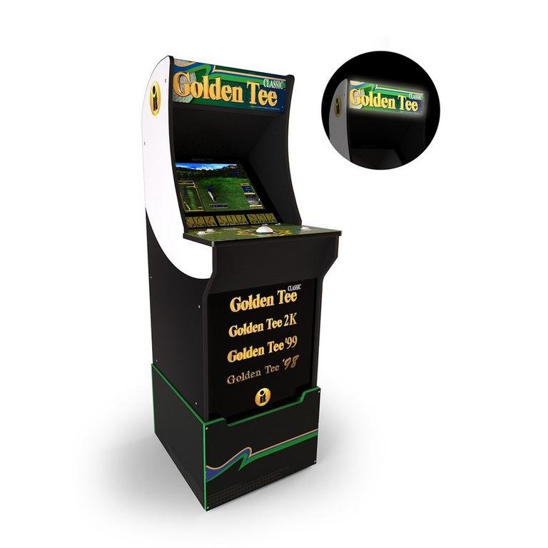 Golden Tee Classic Home Arcade Cabinet with Riser