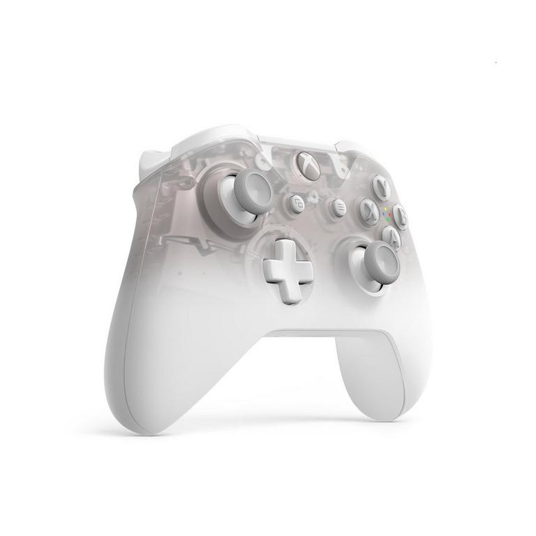 Xbox One Phantom White Wireless Controller