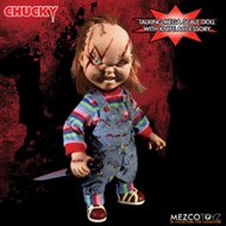 Child's Play Scarred Face Chucky Figure