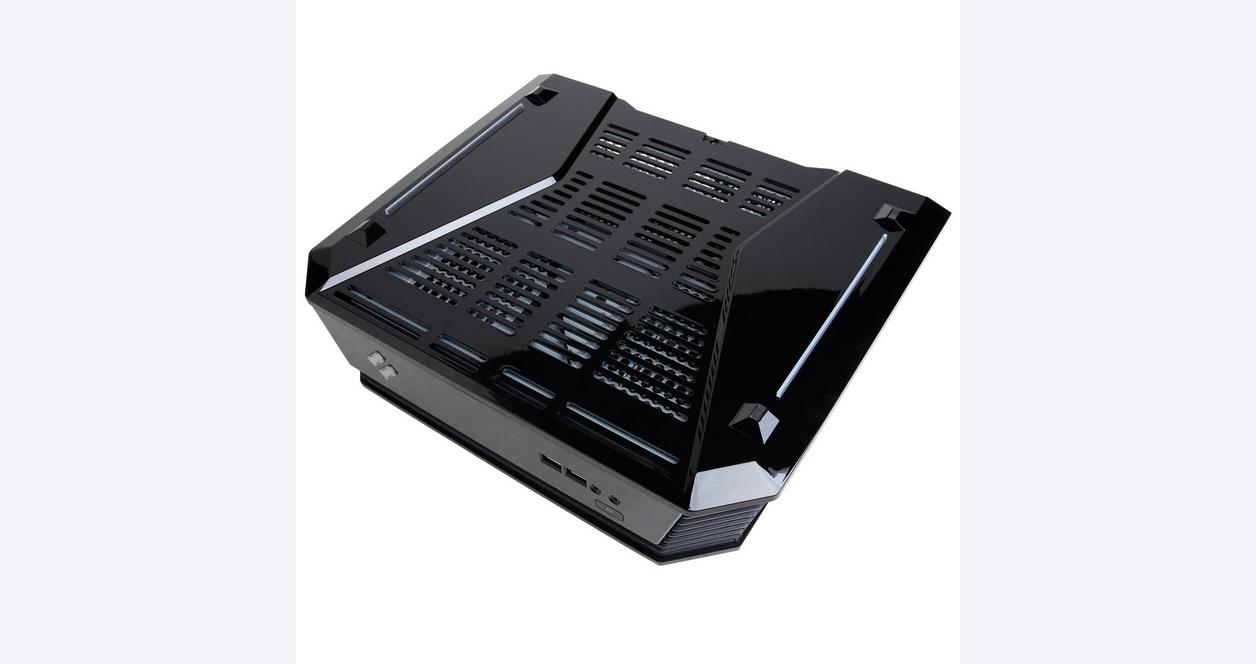 CyberPowerPC Syber C SCCB100 Black Mini ITX Gaming Case