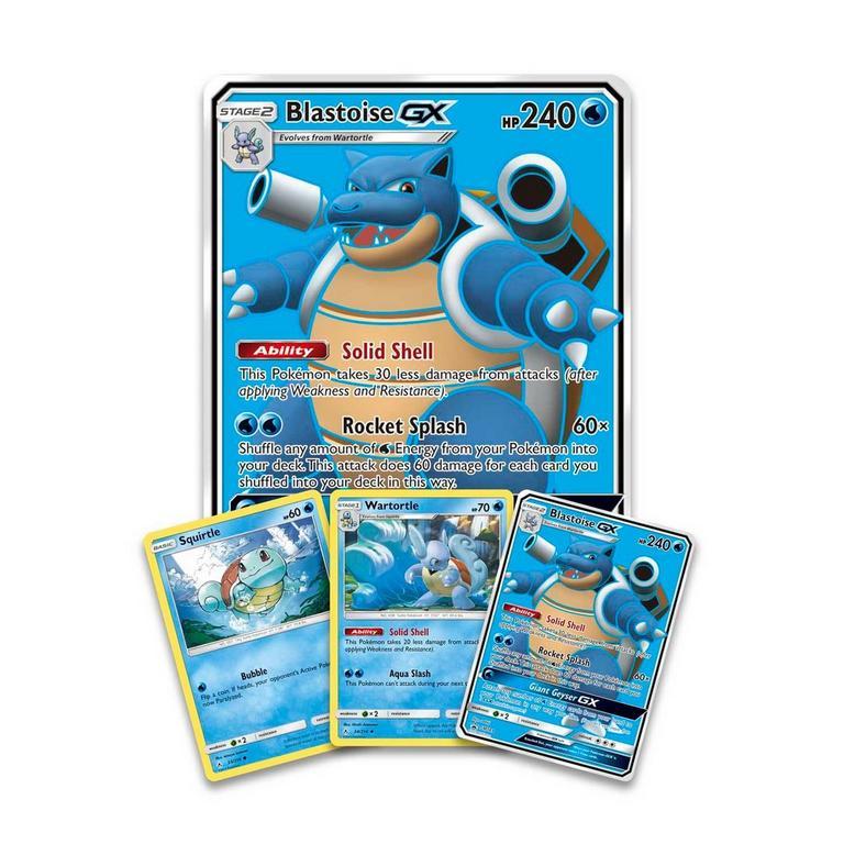 Pokemon Trading Card Game: Blastoise-GX Premium Collection