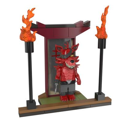 Five Nights at Freddy's Temple of The Fox Micro Construction Set