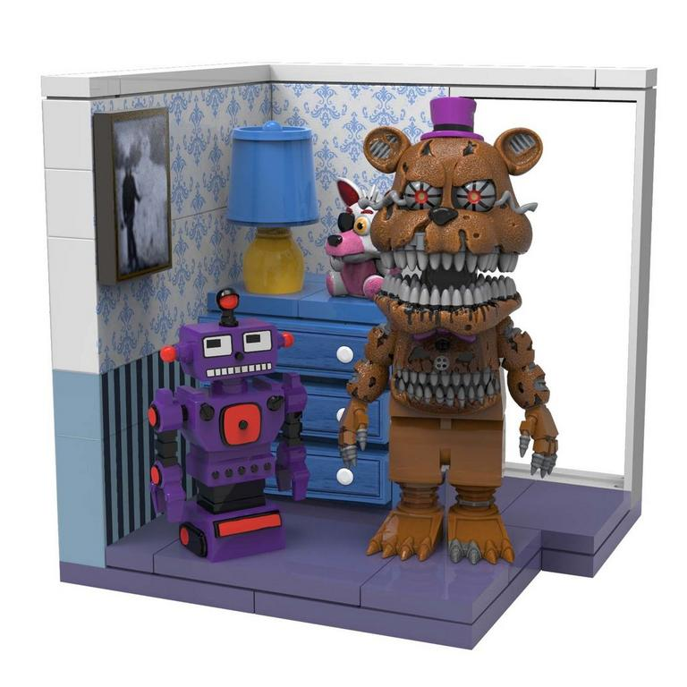 Five Nights at Freddy's Small Construction Set - Dresser and Door