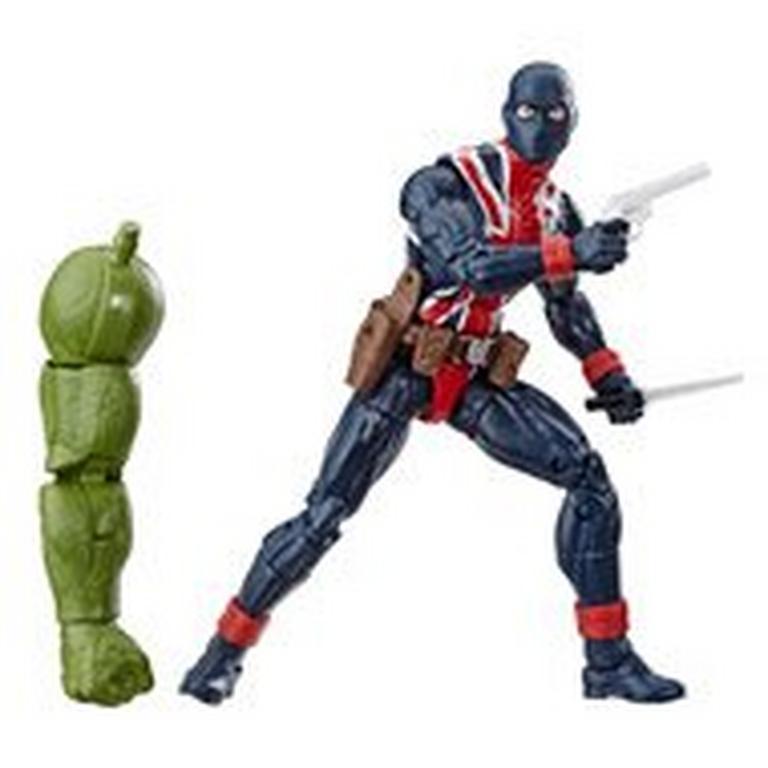 Marvel Legends Series Avengers: Endgame Union Jack Wave 2 Action Figure