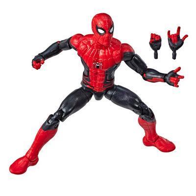 Marvel Legends Molten Man Series Spider-Man Figure