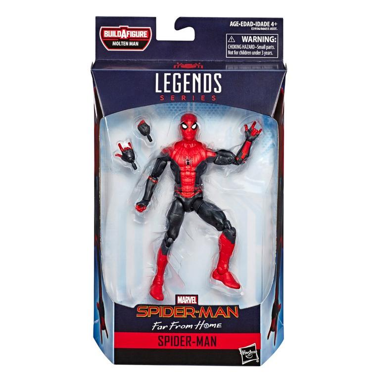 Marvel Legends Series Spider-Man: Far From Home Spider-Man Hero Suit Action Figure