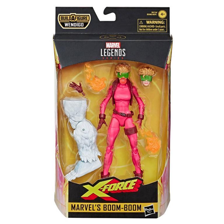 Marvel Legends Series Uncanny X-Force Marvel's Boom-Boom Action Figure