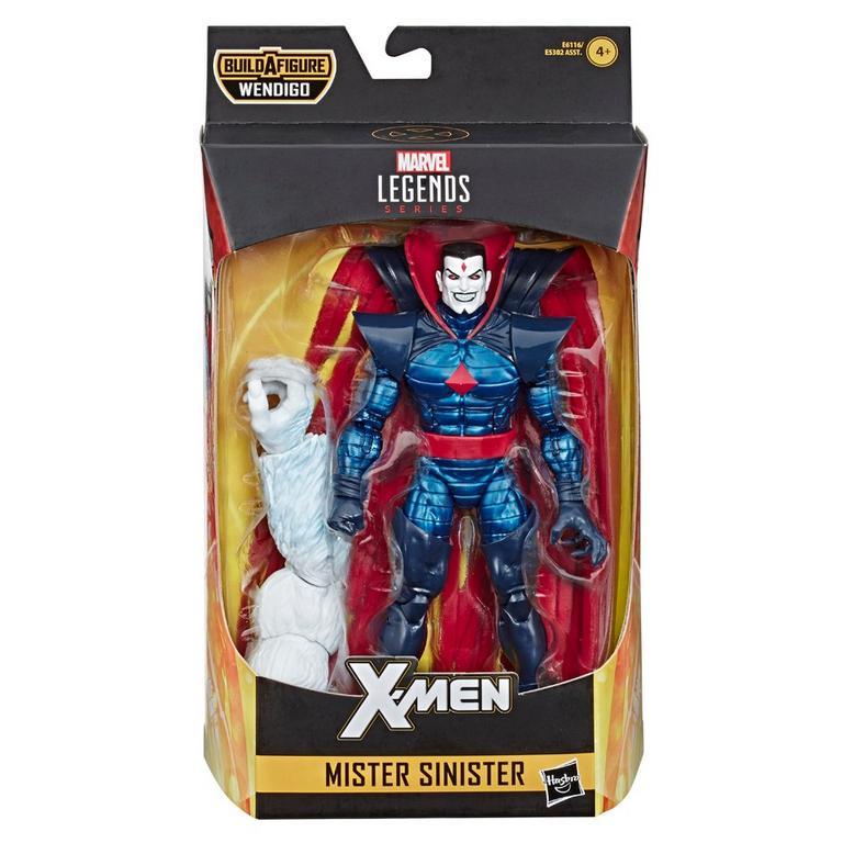 Marvel Legends Series Uncanny X-Force Mister Sinister Action Figure