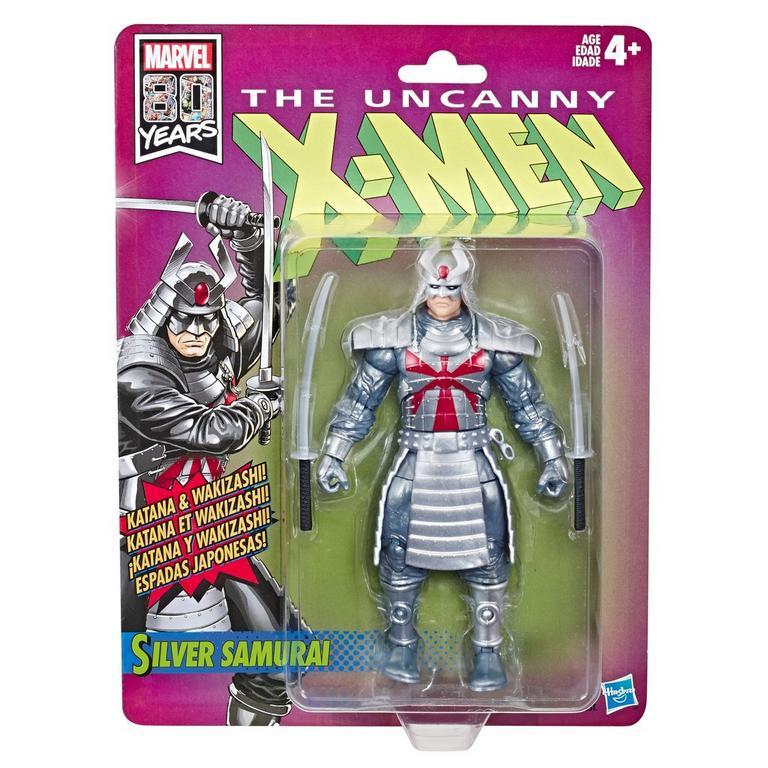 Marvel 80 Years The Uncanny X-Men Silver Samurai Figure