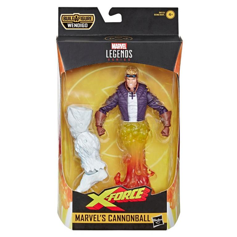 Marvel Legends Series Uncanny X-Force Marvel's Cannonball Action Figure