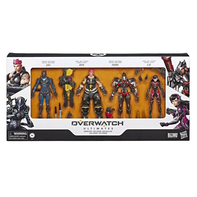 Overwatch Ultimates Carbon Series Action Figure 4 Pack Only at GameStop
