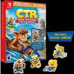 Crash Team Racing Nitro-Fueled Nitros Oxide and Pin Bundle Only at GameStop