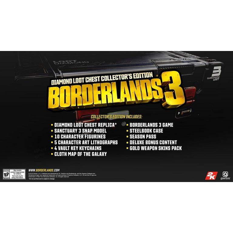 Borderlands 3 Collectors Edition Only at GameStop