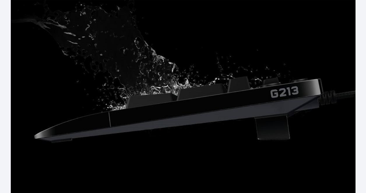 G213 Prodigy RGB Wired Gaming Keyboard