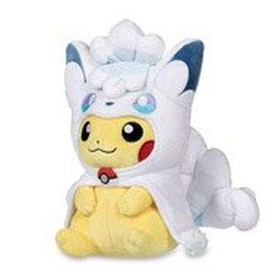 Pokemon Pikachu Alolan Vulpix Cape Plush